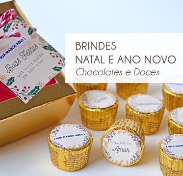 LEMBRANÇA NATAL-CHOCOLATES E DOCES