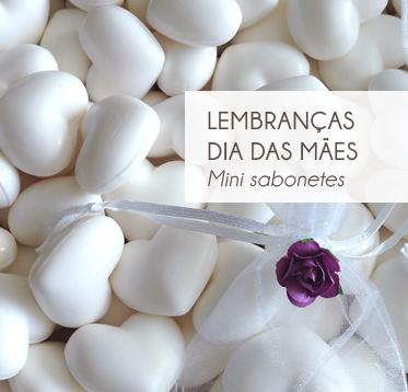 DIA DAS MÃES – LEMBRANÇAS COM SABONETES