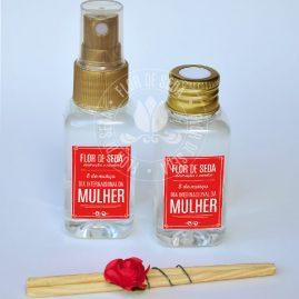 Lembrança dia Internacional da Mulher - Kit aromatizadores de ambiente - Home Spray e Difusor