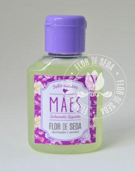 Lembrança dia das Mães - sabonete liquido em frasco de 30ml