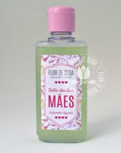 Lembrança dia das Mães - sabonete liquido em frasco de 60ml