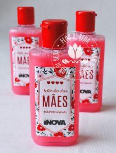 Brindes e lembranças para o dia das Mães - Sabonete Líquido personalizado