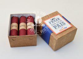 Lembrança Dia dos Pais Caixa com 6 charutos de chocolate pequenos