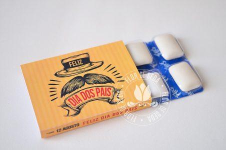 Lembrança Dia dos Pais Pastilhas com embalagem personalizada