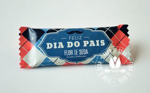 Lembrança Dia dos Pais - Chocolate Diamante Negro com embalagem personalizada