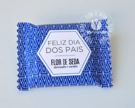 Lembrança Dia dos Pais Chocolate Talento 25g com embalagem personalizada