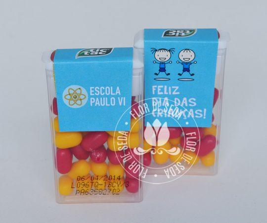 Lembrancinha dia das crianças-Tic Tac personalizado