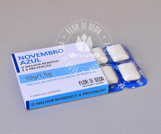 Lembrança Novembro Azul-Pastilhas da Prevenção