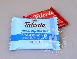 Lembrança Novembro Azul-Talento para a prevenção