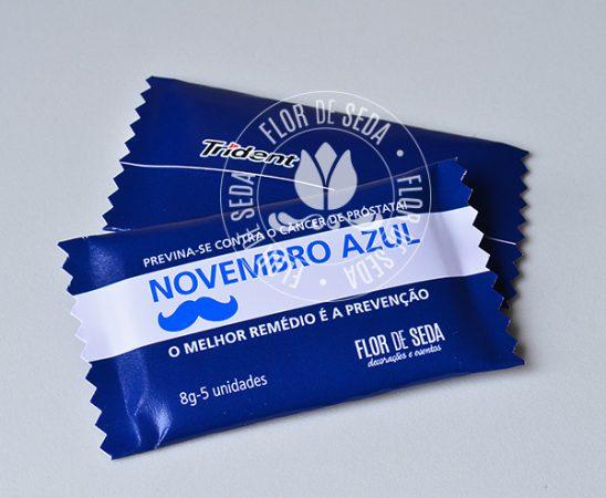 Lembrança Novembro Azul-Trident Personalizado