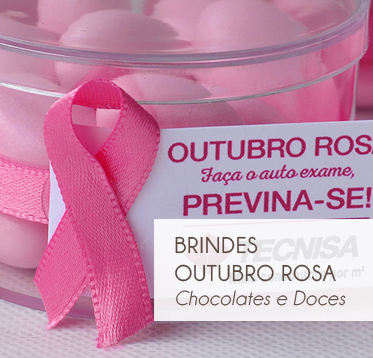 OUTUBRO ROSA-CHOCOLATES E DOCES