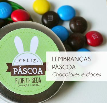 PÁSCOA – CHOCOLATES E DOCES