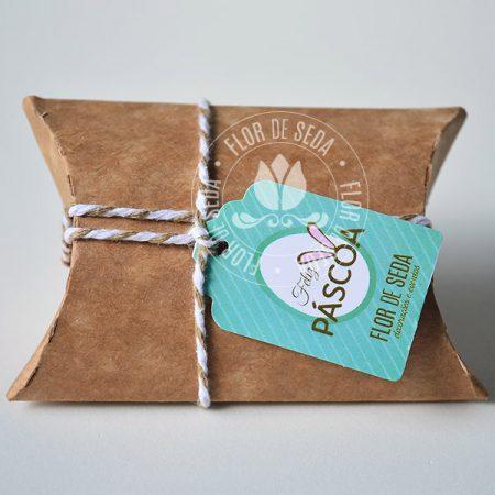 Lembranças para Páscoa-Mini embalagem Kraft envelope com chocolate Baton ou MMS com tag personalizada
