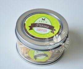 Lembranças para Páscoa-Lata personalizada com 4 chocolates Alpino