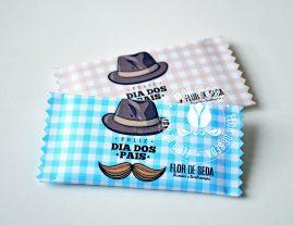Lembrança dia dos Pais - Goma de Mascar Trident com embalagem personalizada