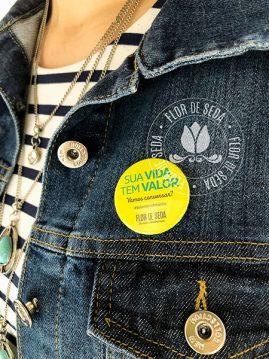 Setembro Amarelo - Bottons personalizados