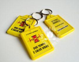 Setembro Amarelo - Chaveiros personalizados
