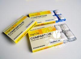 Setembro Amarelo - Pastilhas de Serotonina com embalagem personalizada